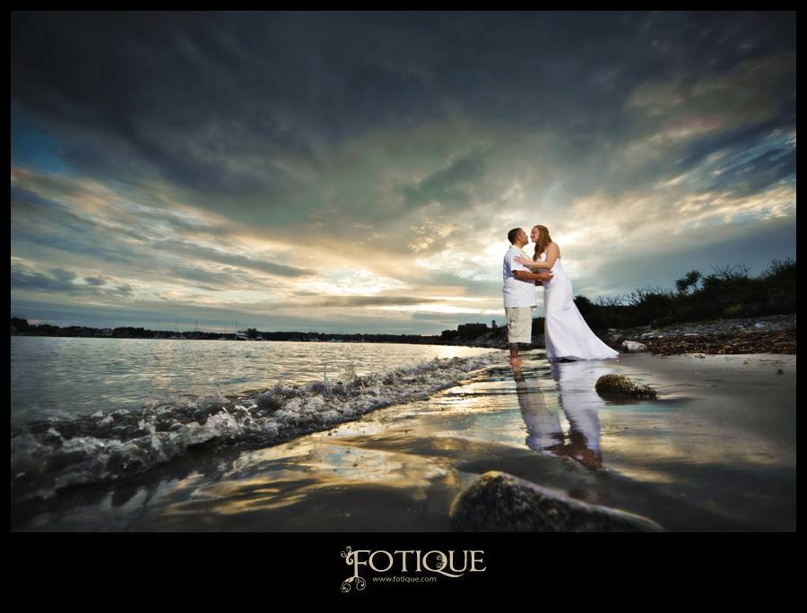An Intimate Rye, NH Beach Wedding! I